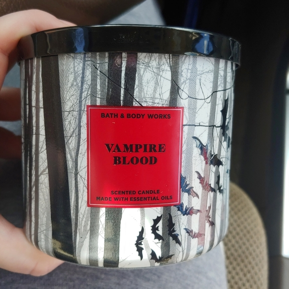 Vampire blood candle